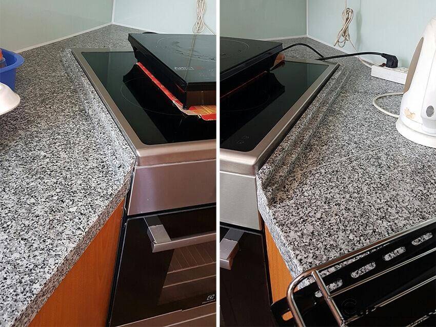 công trình đá granite bình định