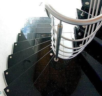 đá cầu thang đen ấn độ