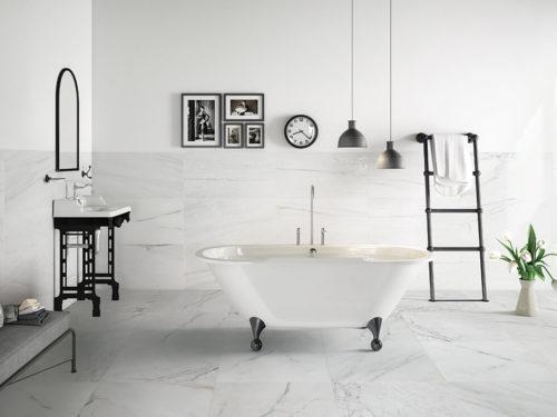 đá marble trắng polaris