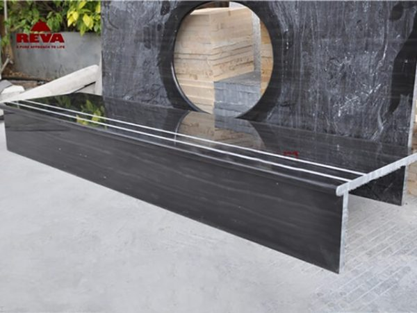 Đá Marble Wooden Black