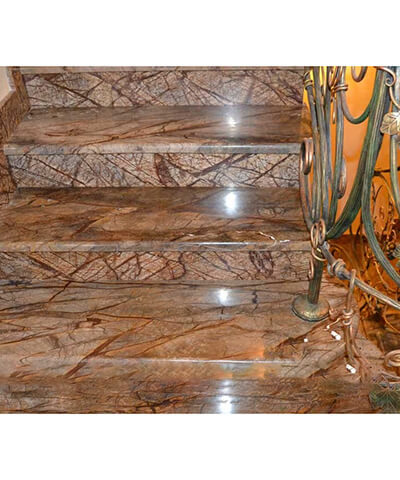 Đá marble nâu rainforest