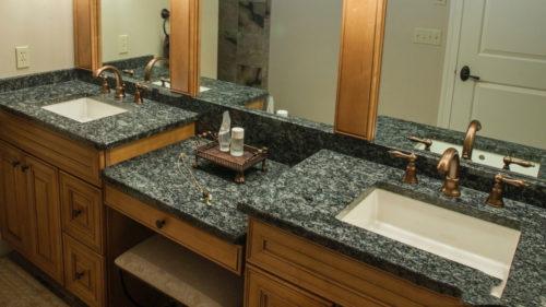 Bàn Đá Lavabo Granite Trắng Fiorita