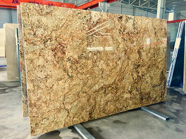 đá granite vàng brazil