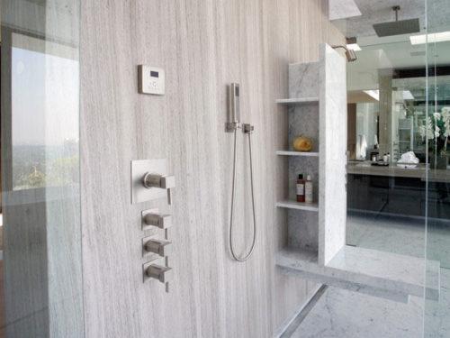 đá ốp tường marble xám vân gỗ