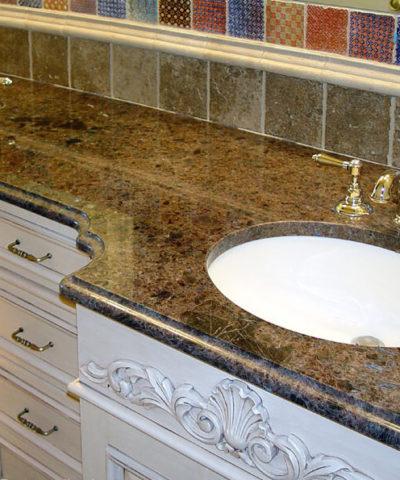 Đá Granite Brown Pearl
