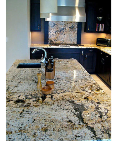 Đá Granite Splendor Gold