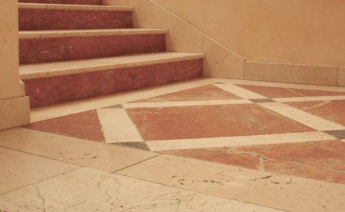Đá Lát Cầu Thang Marble Rojo Alicante