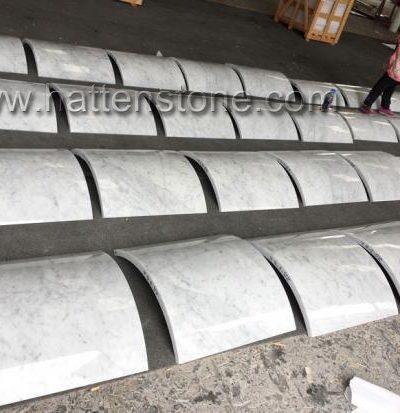 Cột Vuông đá trắng Carrara