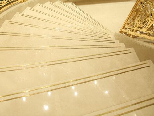 Cầu Thang Đá Marble Burdur beige