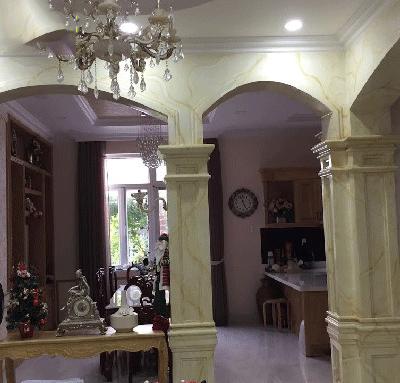 Cột Vuông Ốp đá đẹp