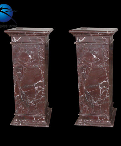 Cột vuông đá marble