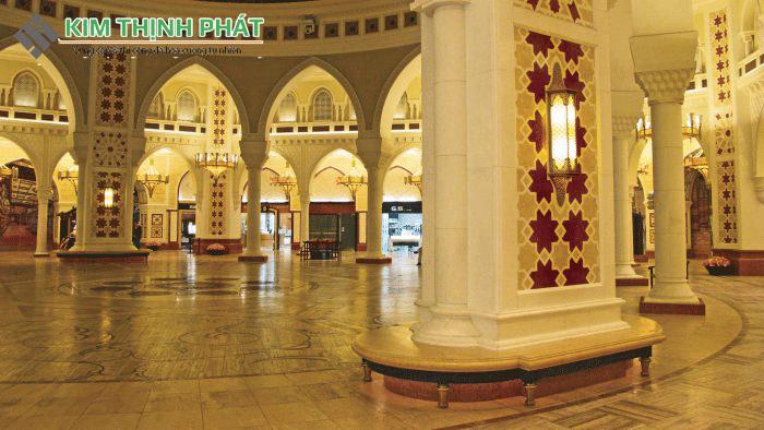 công trình đá marble vàng ai cập