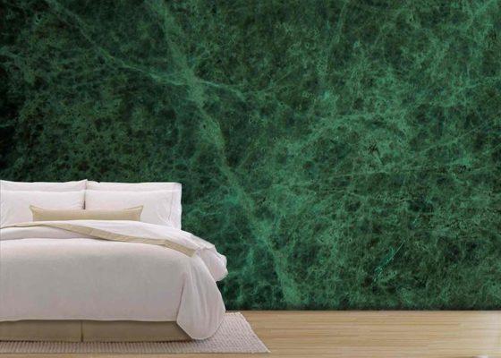 Trang trí đá Marble xanh